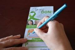 Campagne de sensibilisation épouvantable pour le don d'organes