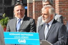Le candidat caquiste Normand Sauvageau se retire