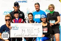 Grand circuit familial: 14 100 fois merci!