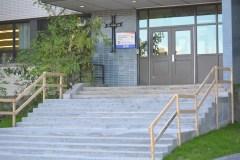Rénovations extérieures à l'école Filteau