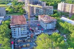 La Suite proposera cinq tours de 100 appartements