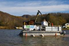 Utilisation concluante du procédé Phoslock au lac Bromont