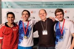 Championnat national de bloc: deux athlètes de Québec l'emportent