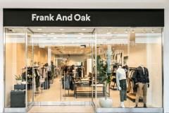 Ouverture d'une boutique Frank and Oak à Place Sainte-Foy