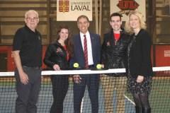 Le tennis intègre la famille du Rouge et Or