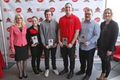 Dévoilement des finalistes aux titres d'étudiants-athlètes de l'année