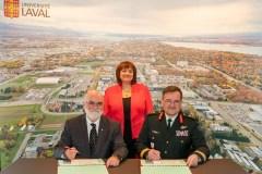 Formation dédiée aux militaires à l'Université Laval