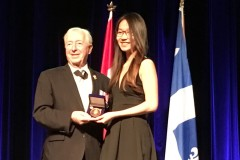 Coralie Grégoire et Kevin Wang médaillés du Lieutenant-gouverneur