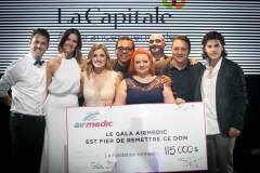 Somme record pour le 6e Gala Airmedic