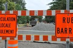 Plus de chantiers routiers de courte durée