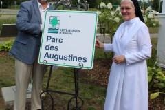 Un parc en hommage aux Augustines