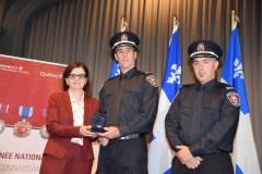 Québec reconnaît le travail de pompiers exceptionnels