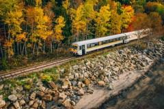 Un nouveau véhicule au Train de Charlevoix