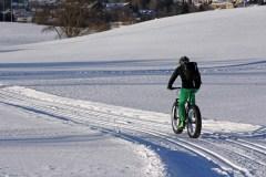 Fat bike, un sport parfait pour apprécier l'hiver