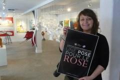 Campagne Une pose pour le rose