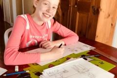 Laura Bourbeau, 13 ans: l'intimidation racontée en BD