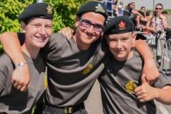 Trois jeunes cadets de la région s'illustrent