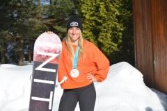 Les montagnes russes d'émotions et la médaille de Laurie Blouin