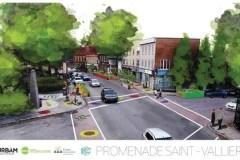 Une promenade Saint-Vallier pour embellir le quartier Saint-Sauveur