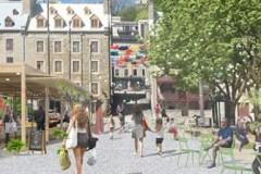 Plus de 300 000$ pour le réaménagement de la place de Paris