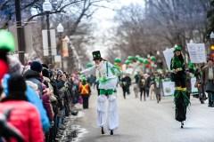 Les Irlandais tiennent leur 9e défilé à Québec