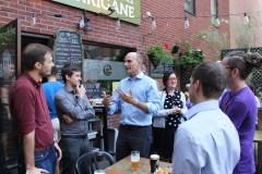 Bière et politique en compagnie de Jean-Yves Duclos