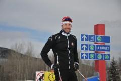 Ski de fond: les Canadiens Harvey et Valjas dans le top 20 lors d'un sprint