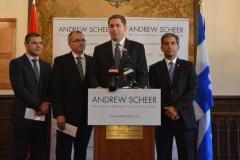 Quatre appuis, dont deux de Québec, pour l'aspirant-chef conservateur Andrew Scheer