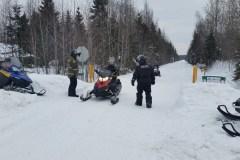Sécurité en motoneige: 52 constats d'infraction en un seul weekend