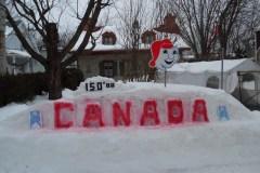 25 ans de monuments de neige pour le Carnaval