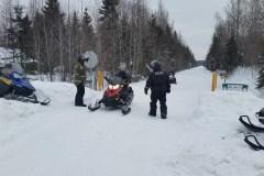 Motoneige: la Sûreté du Québec remet 100 constats d'infraction en un week-end