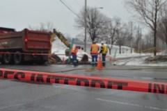 Fuite de gaz dans le Vieux-Québec