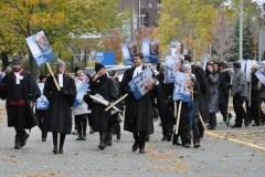 Les avocats et notaires de l'État québécois ont repris le piquetage