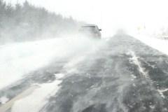 Des bourrasques de neige à Québec aujourd'hui