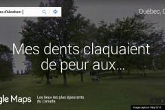 Les Plaines dans le top 10 des endroits Street View les plus effrayants