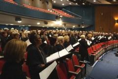 Plus de 300 choristes dans l'envers du décor