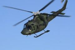 Des hélicoptères militaires au-dessus de la Citadelle mercredi