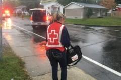 Incendie à L'Ancienne-Lorette: Un bébé transporté à l'hôpital