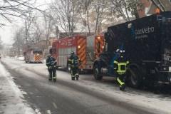 Fuite de gaz sur Père-Marquette