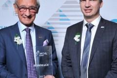 Prix Hommage APCHQ 2017 décerné à Roger Parent de M.R. Parent/Logisco