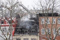 Développements sur le feu de la rue Saint-Paul