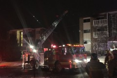 Incendie dans un immeuble de trois étages à Charlesbourg
