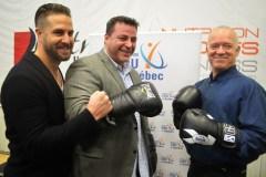 Boxer pour mettre les maladies du dos K.-O.