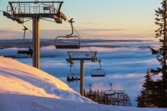 Un Noël blanc sur les pistes de ski