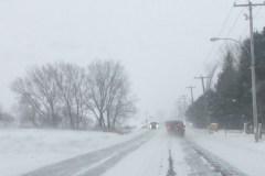 Conditions routières difficiles dans la région de Québec