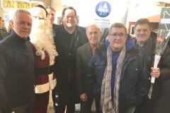 Opération paniers de Noël au Pignon Bleu