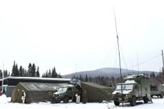 L'armée débarque à Portneuf