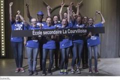 Une émission à Télé-Québec met en vedette des élèves de la Courvilloise