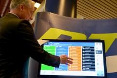 RTC : Des écrans tactiles pour s'informer des parcours d'autobus à Québec