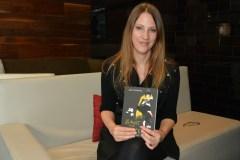 India Desjardins est de retour avec un livre pour adultes après Aurélie Laflamme